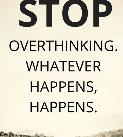 The Secret to Stop Over-Thinking